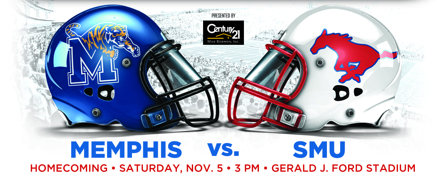 SMU-Memphis graphic, SMU Homecoming 2016