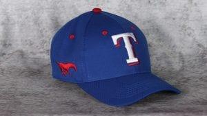 SMU-themed Rangers cap