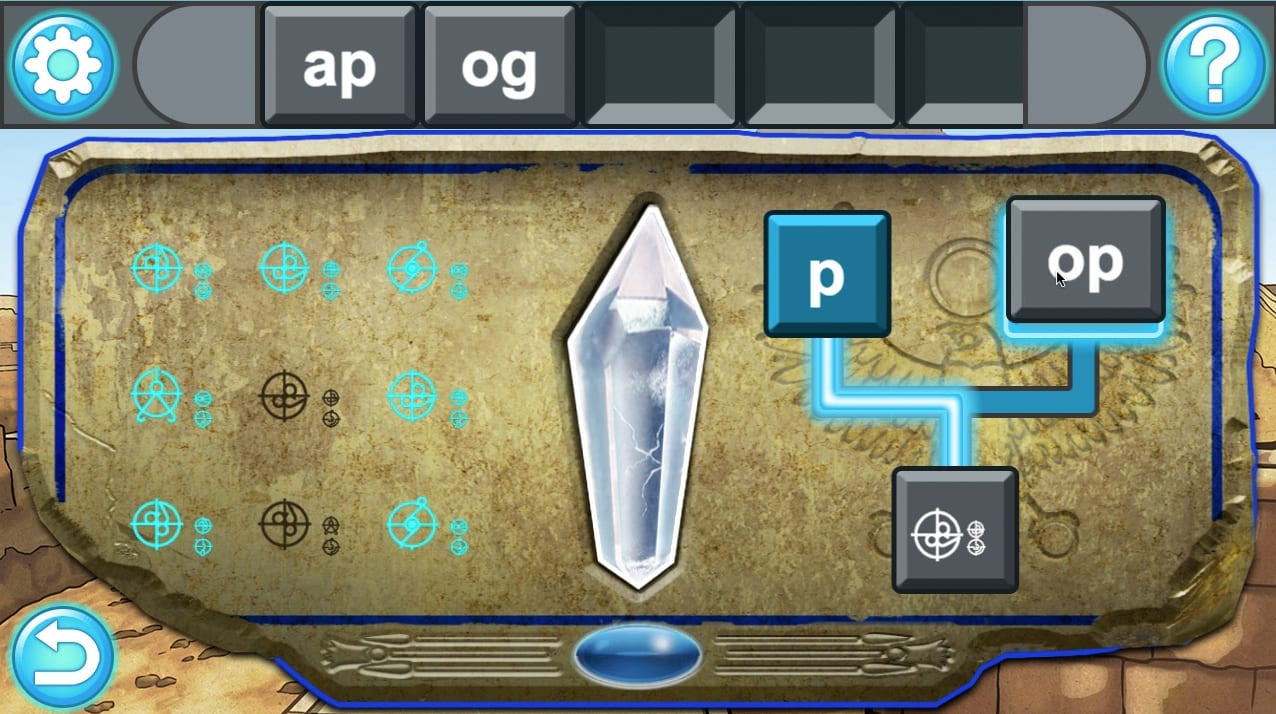 Codex click-and-drag gameplay