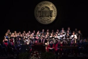 SMU Opening Convocation choir, 2016