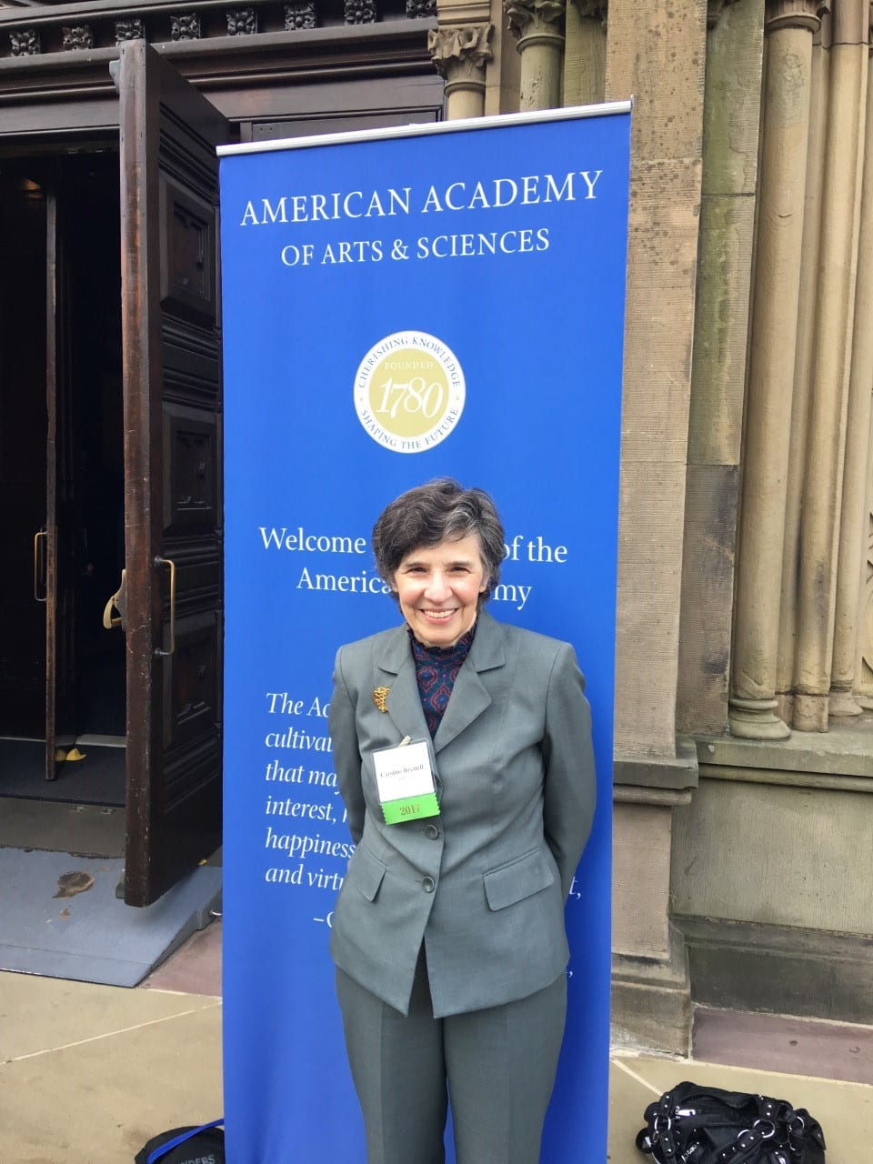Caroline Brettell, 2017 induction, American Academy of Arts and Sciences, Cambridge, MA