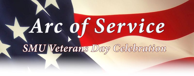 Arc of Service banner, Maguire Center Veterans Day Luncheon 2017, 800px