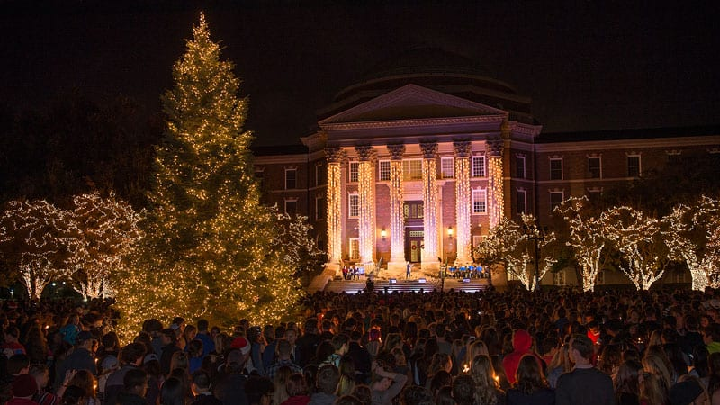 SMU Celebration of Lights 2016