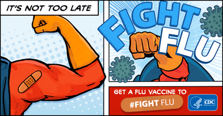 CDC Fight Flu campaign