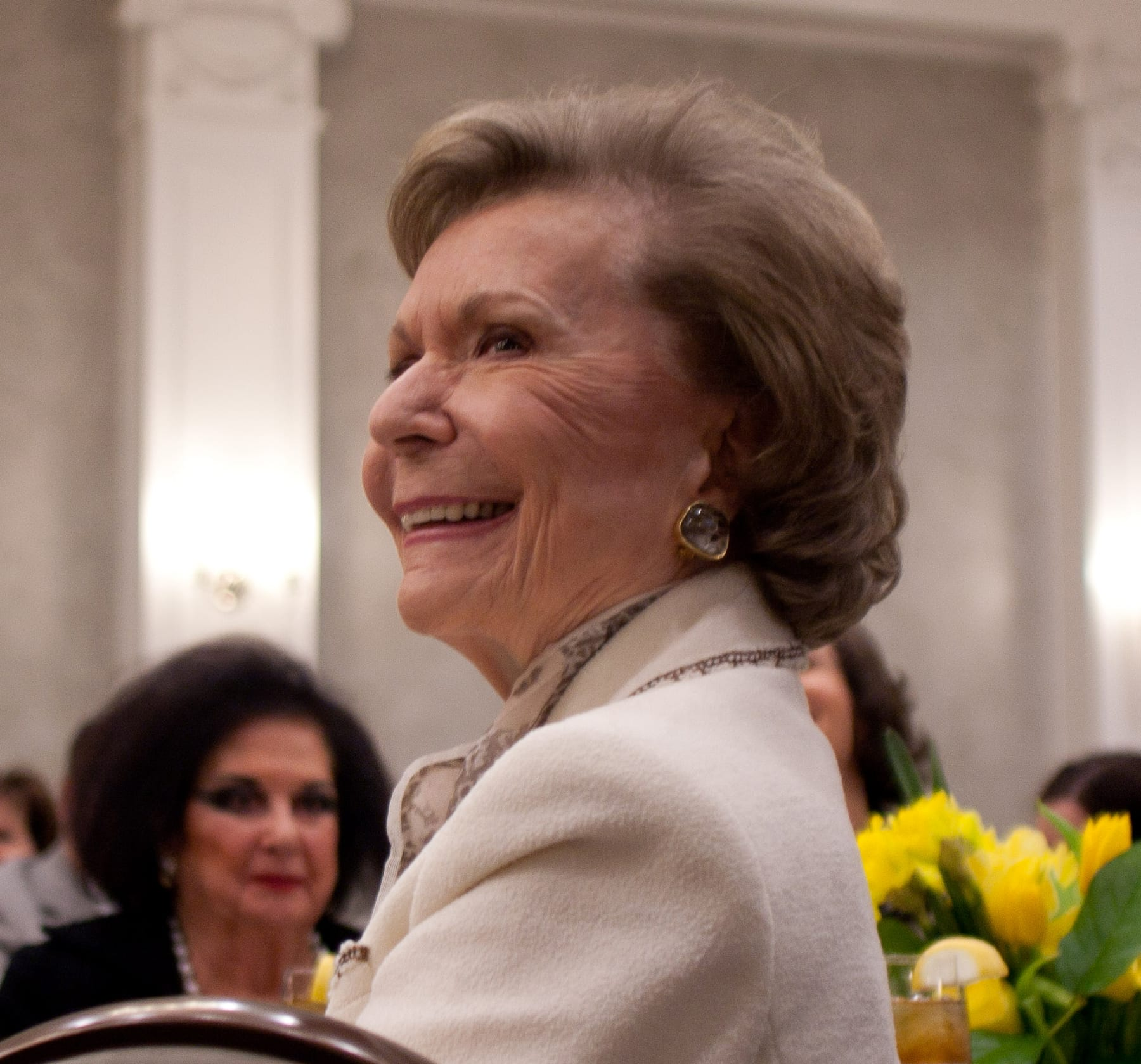 Ruth Collins Sharp Altshuler '48 at a ceremony where she received SMU's 2011 J. Erik Jonsson Ethics Award