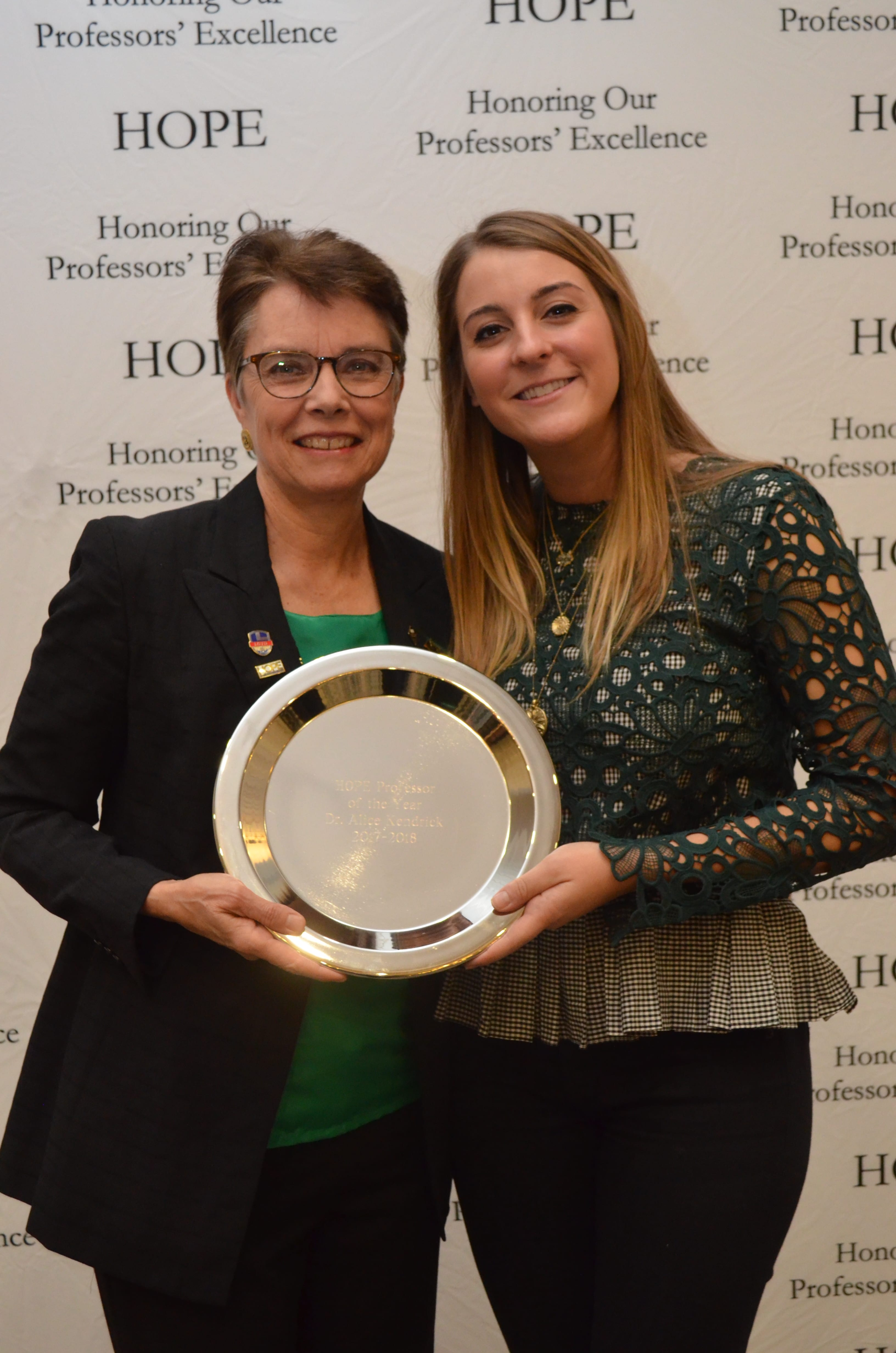 Alice Kendrick and Tiffany Giraudon, HOPE Awards 2018