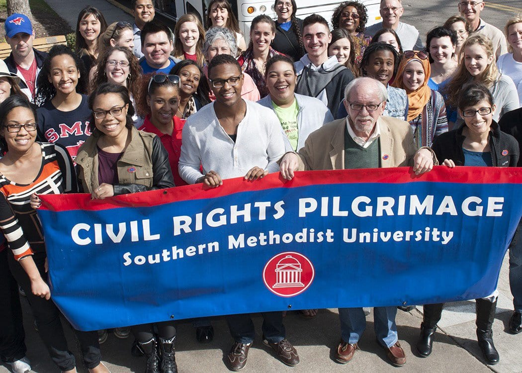 Dennis Simon, SMU Civil Rights Pilgrimage