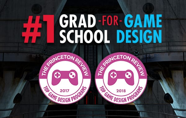 SMU Guildhall, No. 1 Graduate Game Design Program, The Princeton Review 2018