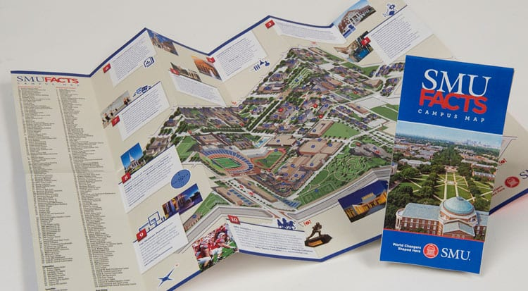2018 SMU Facts Map, photo by Hillsman S. Jackson