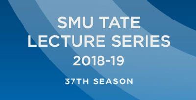SMU Tate Distinguished Lecture Series 2018-19 logo