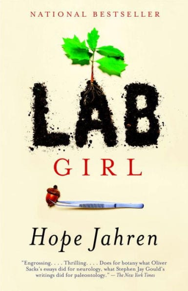 LAB GIRL by Hope Jahren, book cover, SMU common reading 2018