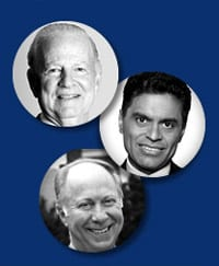 James A. Baker III, Fareed Zakaria and David Gergen
