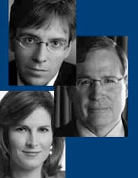 Ian Bremmer, Stephen Hadley and Claire Shipman