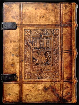 Bridwell ancient books exhibit