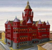 Jerry Bywaters' 'Dallas County Courthouse'
