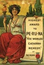 Peruna ad from catalog