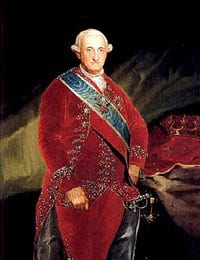 King Charles IV of Spain, as painted by Francisco de Goya