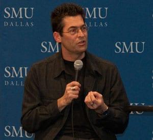 Photographer Chris Jordan at SMU