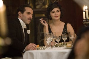 Alessandro Nivola and Audrey Tautou in 'Coco avant Chanel'