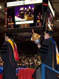 Commencement 2008 - Faculty Senate President Gary Evans