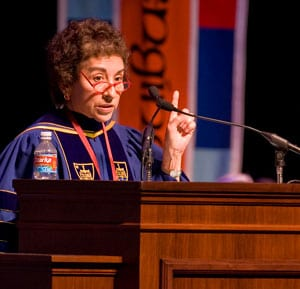 Cordelia Candelaria gives SMU's 94th Convocation address