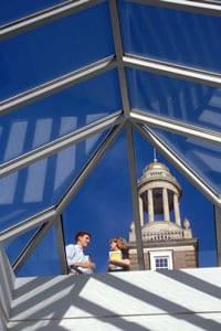Fincher Building cupola