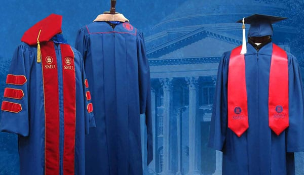 SMU's new custom regalia for 2009
