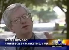 SMU Marketing Professor Dan Howard