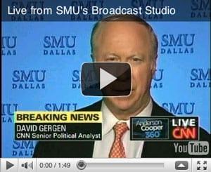 David Gergen at SMU