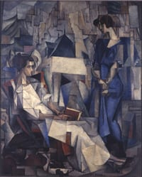 'Dos Mujeres' by Diego Rivera