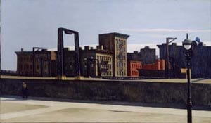 'Manhattan Bridge Loop' by Edward Hopper