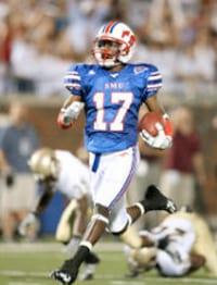 SMU wide receiver Emmanuel Sanders