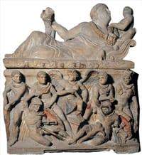 Etruscan exhibit