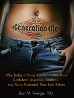 'Generation Me' bookcover