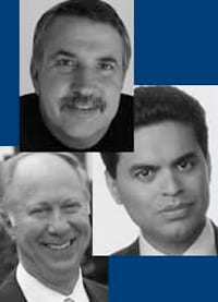 Thomas Friedman, Fareed Zakaria and David Gergen