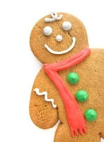 Stock photo of gingerbread man
