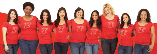 Go Red For Women banner
