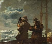 'Eight Bells' by Winslow Homer