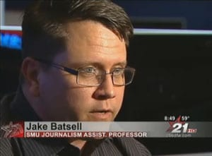 Jake Batsell on CBS-11 News
