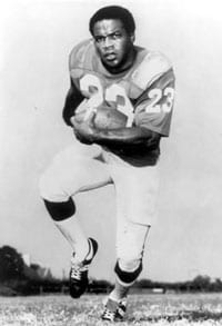 Jerry LeVias as an SMU football star