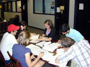 LEC tutoring session