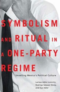 Cover of 'Symbolism and Ritual in a One-Party Regime' by Larissa Adler Lomnitz