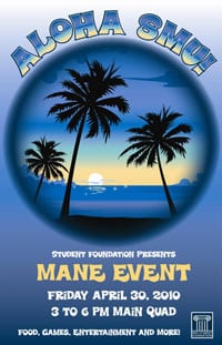 SMU's Mane Event 2010 poster