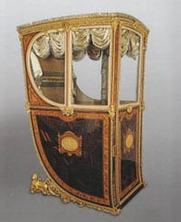 Sedan chair of Queen Maria Luisa of Parma