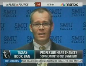Mark Chancey on MSNBC