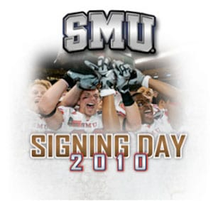 SMU Signing Day 2010