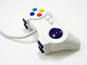 Stock photo of a PC game controller