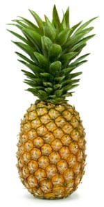 Stock photo of a pineapple