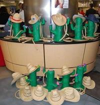 President's Picnic 2010, cowboy hats and cacti