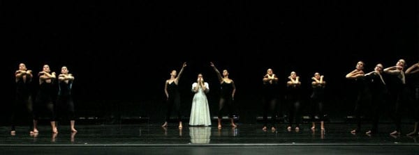 Scene from 2007 SMU production of Martha Graham's 'Primitive Mysteries'